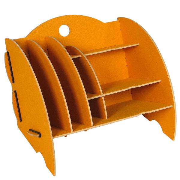 schreibtischablage werkhaus mini organizer gelb b ro. Black Bedroom Furniture Sets. Home Design Ideas
