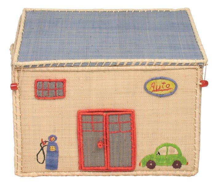 rice aufbewahrungskorb garage klein dorfhaus. Black Bedroom Furniture Sets. Home Design Ideas