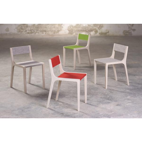 Schreibtischstuhl kind kinderstuhl birke filz grau dorfhaus - Kinderstuhl design ...