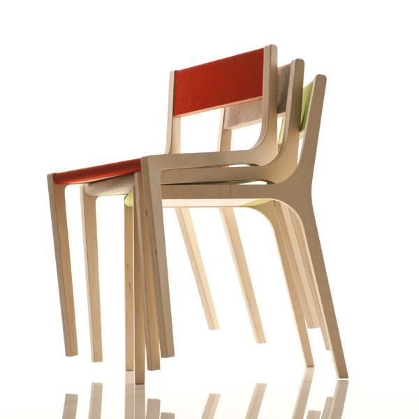schreibtischstuhl kind kinderstuhl birke filz grau. Black Bedroom Furniture Sets. Home Design Ideas