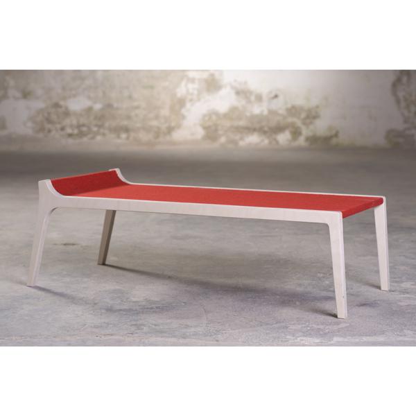 sirch erykah kinderbank birke filz rot design kinderm bel. Black Bedroom Furniture Sets. Home Design Ideas