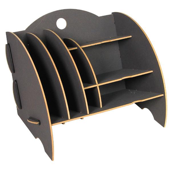 Schreibtischablage mini organizer grau werkhaus b ro for Schreibtisch utensilo