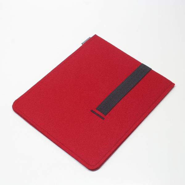 tablet h lle filz rot filzh lle tablet dorfhaus. Black Bedroom Furniture Sets. Home Design Ideas