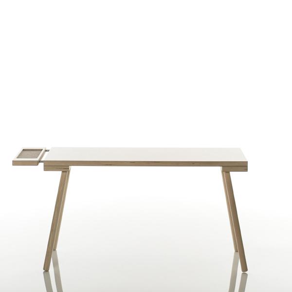 Kindermöbel holz  Kindertisch Holz poldi isst weiße Tischplatte -Design-Kindermöbel