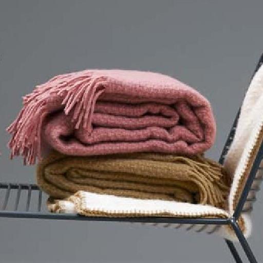 klippan decke wolle 130 200 nude lambs wool wolldecke wollplaid. Black Bedroom Furniture Sets. Home Design Ideas