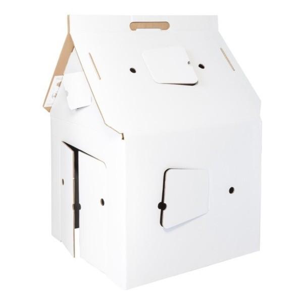 kinderspielhaus casa cabana spielhaus karton studioroof dorfhaus. Black Bedroom Furniture Sets. Home Design Ideas