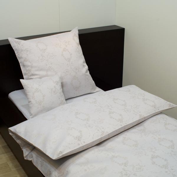 leinen bettw sche romantik natur halbleinen kaufen dorfhaus. Black Bedroom Furniture Sets. Home Design Ideas