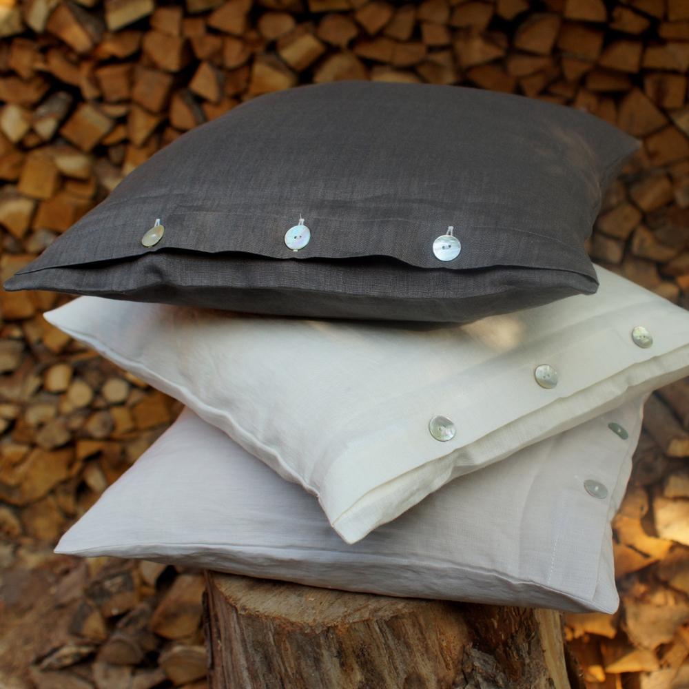 schlitzer leinen bettw sche traumflachs loft reinleinen kaufen. Black Bedroom Furniture Sets. Home Design Ideas