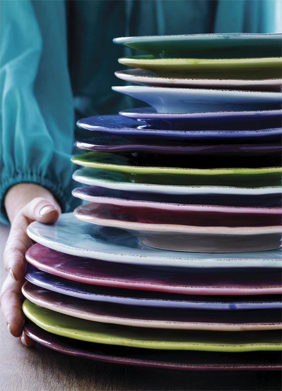 gro er keramikteller in mint rice d nemark dorfhaus. Black Bedroom Furniture Sets. Home Design Ideas