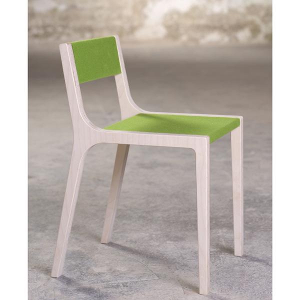 schreibtischstuhl kind sepp kinderstuhl holz filz gr n. Black Bedroom Furniture Sets. Home Design Ideas