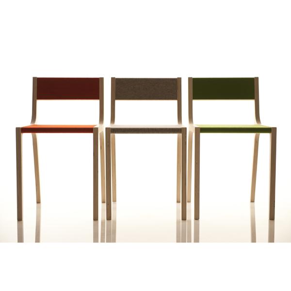 Schreibtischstuhl kinder holz  Schreibtischstuhl Kind Birke Filz grün von sirch slawomir Design