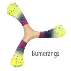 Bumerangs - Sportbumerangs