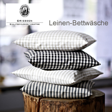 Leinen Bettwäsche - Schlitzer Leinen - Design made in Germany