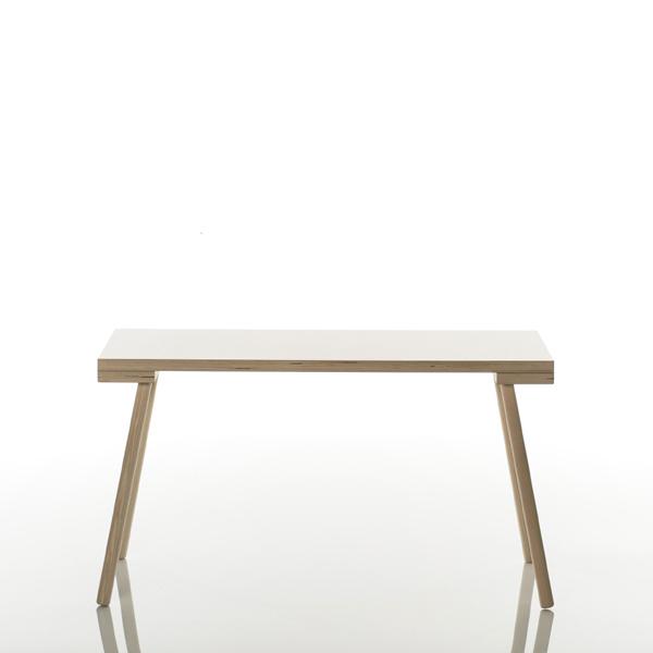 Kindertisch holz  Kindertisch Holz poldi isst weiße Tischplatte -Design-Kindermöbel
